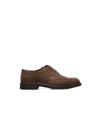 Divarese 5023692 Zımbalı Kum Süet Erkek Ayakkabı Sarı